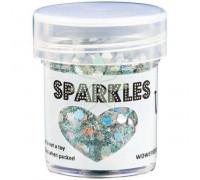 Глиттер для эмбоссинга Starlight (Звездный свет) SPARKLES Premium Glitter от WOW!
