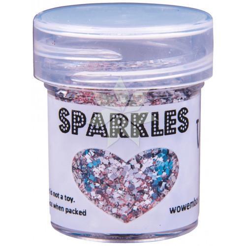 Глиттер для эмбоссинга Ballet Shoes (Балетки) SPARKLES Premium Glitter от WOW!