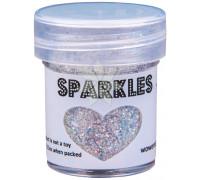 Глиттер для эмбоссинга Bridal (Свадебный) SPARKLES Premium Glitter от WOW!