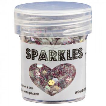 Глиттер для эмбоссинга Flamingo (Фламинго) SPARKLES Premium Glitter от WOW!